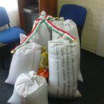 Összegyült a búza adomány a Nemzet Kenyere Programra